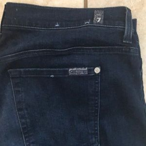 7 For All Mankind Jeans - 7 for all mankind size 34/14 b(air) skinny jeans